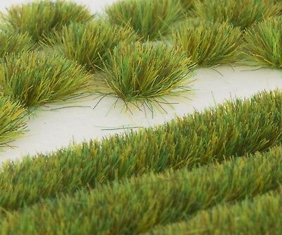 WWS Spring 6mm Self-adhesive Static Grass Tufts and Strips Set. WWG. Huge Saving