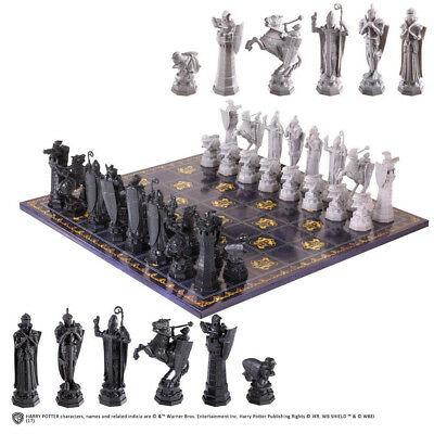 Noble Collection Harry Potter Deluxe Chess Set. Shipping Included