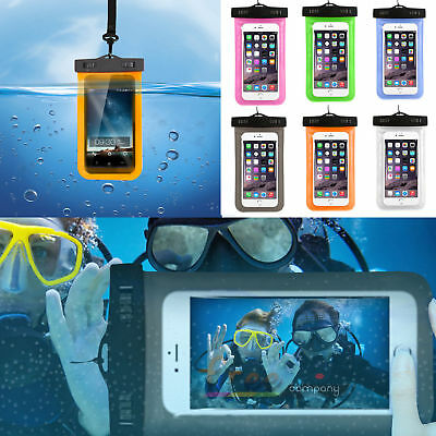 Generic Universal Waterproof Pouch Bag Case Underwater Cover For Smartphone