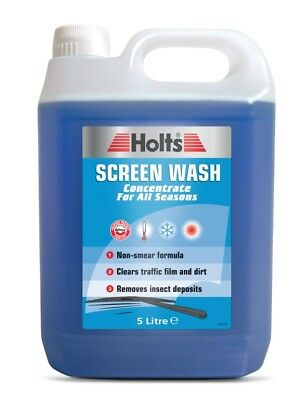 HoltS Concentrated Screen Wash Windscreen 1L 5L