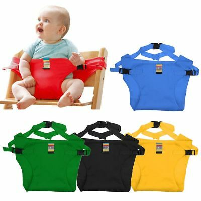 AU Baby Safety High Chair Feeding Seat Infant Portable Dining Travel Belt Cover