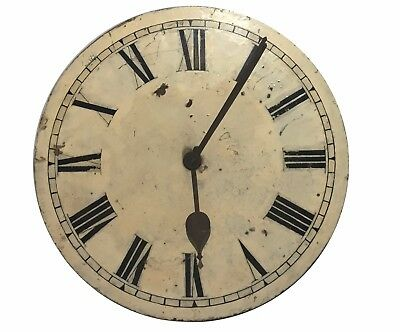 Antique fusee wall clock works only maker James Ritchie and Sons Edinburgh 1882