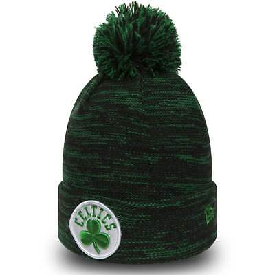 Boston Celtics New Era Strick Wintermütze Bobble Beanie