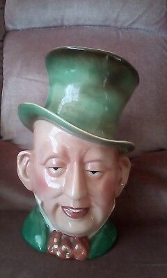 """Beswick Ware Large Toby Character Jug micawber 8.75"""" collectable number 310 VGC"""