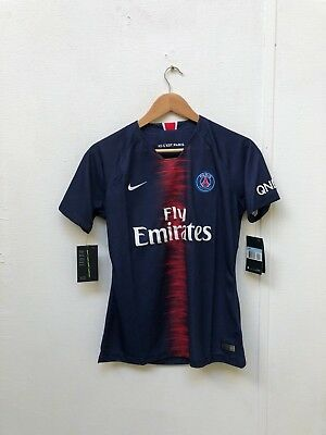 Nike Men's PSG FC 2018/19 Ligue 1 Home Shirt - Medium - Neymar JR 10 - Navy -New