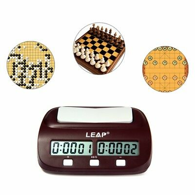 Professional LEAP PQ9907S Digital Chess Clock Multi-Functions Entertainment