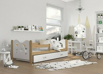 Lovely Single Bed for Children Kids Cool Design +Drawer +Mattress +Free Delivery