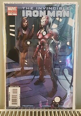 Invincible Iron Man #10 Pepper Potts Variant NM/NM+ *1st Rescue* Avengers 4