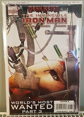Invincible Iron Man 10 Exclusive Retailer Variant NM ***1st Rescue*** Avengers 4