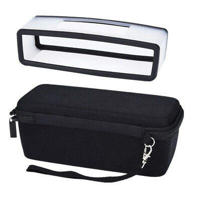 Travel Carrying Case With Black Soft Cover For Bose SoundLink Mini BT Speaker