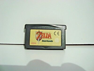 Nintendo Game Boy Advance Game The Legend of  Zelda Link To The Past Four Swords