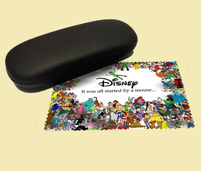 Disney lens cloth screen wipe laptop pc glasses soft gift characters mickey kids