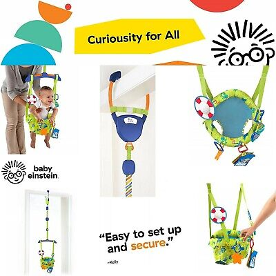 20209d841625 BABY DOOR JUMPER Bouncer Exersaucer Doorway Activity Learning Center ...