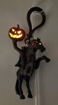 Disney Parks Halloween 2018 Headless Horseman Light Up Straw Clip And Straw NEW