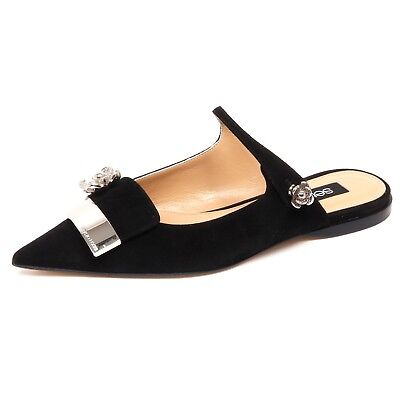 5c651e97507 F1898 SANDALO DONNA black WINDSOR SMITH PRISM scarpe shoe woman ...