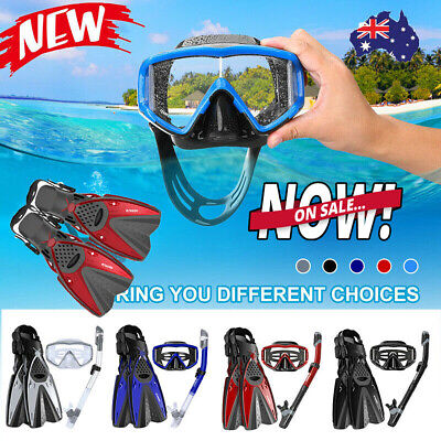 180° Snorkel Mask Tempered Glass Dry Snorkeling Diving Swimming For Goggle Gopro