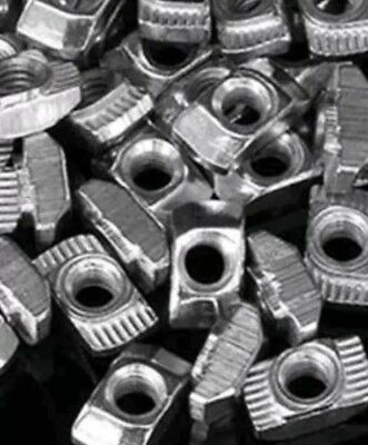 10-pcs m5 Drop-In Hammer Slide T-Nut Plated Carbon Steel 20-Series 2020 2040 USA