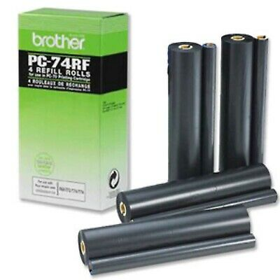 Original Pc-74Rf Black  For Brother Fax Machines