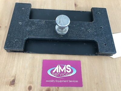 Quickie Salsa M Electric Wheelchair Docking Station Base Plate With Vehicle Pin
