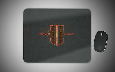 Call of Duty black ops 4 mouse mat gaming laser non slip fabric rubber gift