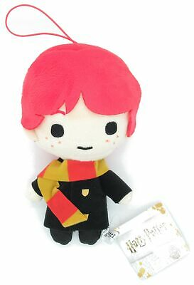 RON Weasley Peluche 16cm CON LACCETTO Originale HARRY Potter Warner Bros Sciarpa