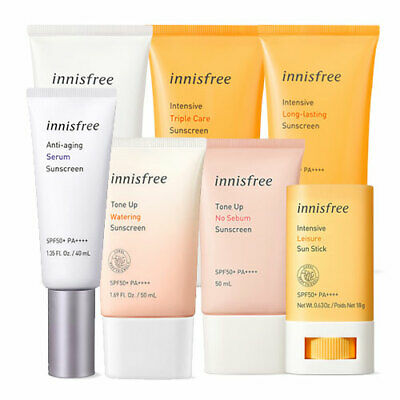 [Innisfree] Sun Cream (Perfect / Daily / Extreme / Forest / The Minimum / Moist)