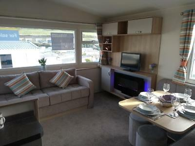 New static caravan holiday home sited with seaview, South Devon, Plymouth