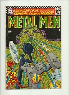 Metal Men Comic Book #25, DC Comics 1967 - VERY GOOD