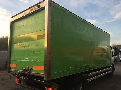 22ft Storage Container Rear Doors Green GRP Truck Box Shed Or Workshop