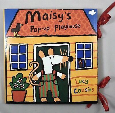 Maisy Pop-Up Playhouse Book by Lucy Cousins  - Hardcover - NEW Nickelodeon