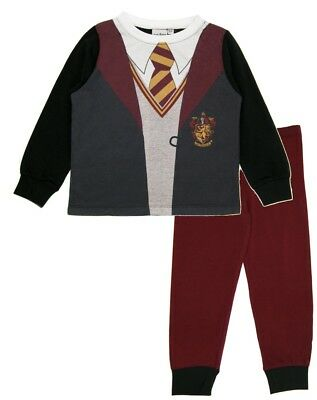 Boys Girls Harry Potter Uniform Dress Up Pyjamas Kids Novelty Hogwarts Long PJs