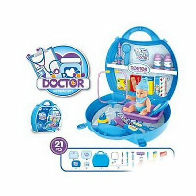 Kids Simulation Doctor Cosplay Games Medical Toy Set Playful Educational Toys 6e