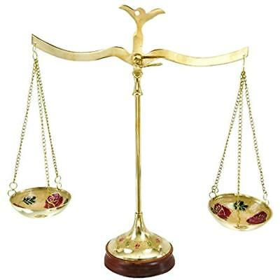 """30651 Home & Kitchen Features Brass Scale, 12""""W X 12""""H"""