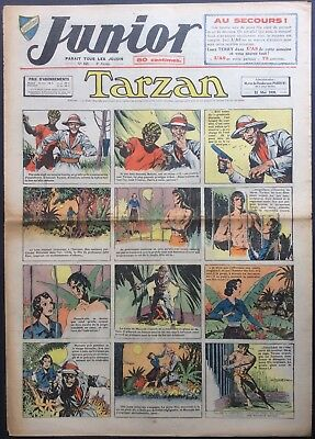 JUNIOR the Journal of Tarzan issue n°163 du 11 may 1939 Condition correct