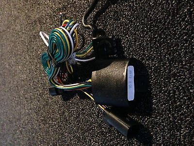 harley davidson trailer wiring harness plug and play flh 14-up