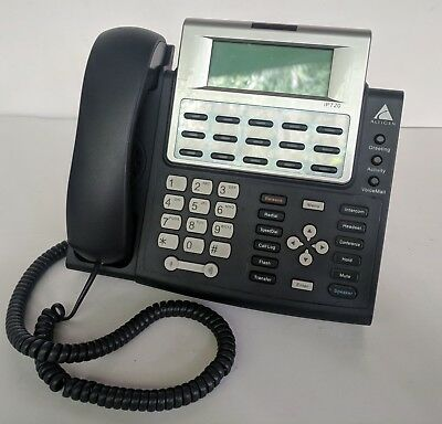 Altigen IP720 Voip PoE Office Business Phone LCD Display w/ Stand & Power Supply