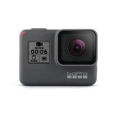 GoPro HERO6 Black 4K60 HD Action Camera Camcorder - Certified Refurbished