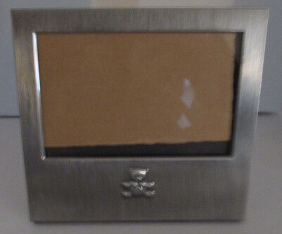 """6 1/4"""" x 6 3/4"""" Baby Photo Frame Wall or Table Holds 3 1/2"""" x 5 1/2"""" (SC-29)"""