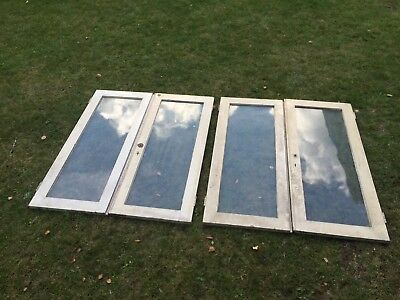 Timber/wooden Windows Including Hinges And Latches. Retro/vintage/shabby chic