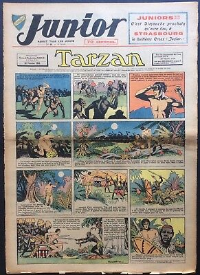 JUNIOR the Journal of Tarzan issue n°98 du 10 february 1938 Condition correct