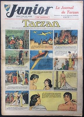 JUNIOR the Journal of Tarzan issue n°70 du 29 juillet 1937 Condition correct