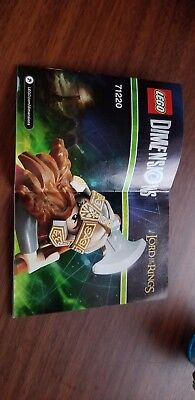 LEGO DIMENSIONS LORD OF THE RINGS GIMLI AXE CHARIOT FUN PACK 71220 instructions