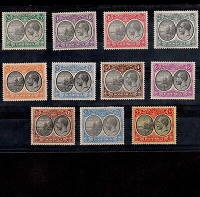 Dominica 1923-1927 Selection Of Mint & Used King George V Stamps