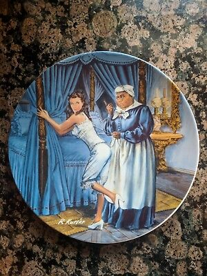 Gone With The Wind Decorative Plate Collection Mammy Scarlett Limited Ed Knowles
