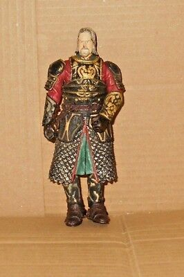 Lord Of The Rings Figurine - Roi Théoden en Armure 15.2cm Figurine