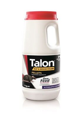 Selleys Talon Pellets 1Kg Rat Mice