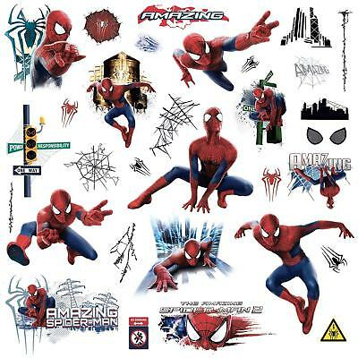 Marvel Superheroes Avengers Wall Decal Amazing Spider-man peel and stick sticker