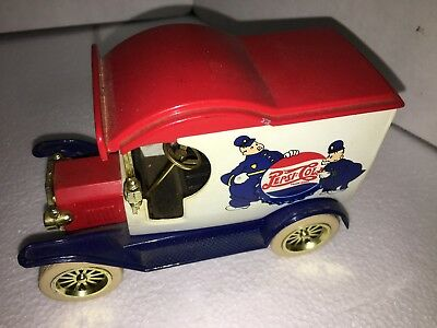 Vintage Gearbox Toy Limited Edition Pepsi:cola 1912 Ford 1:24 Scale Coin Bank