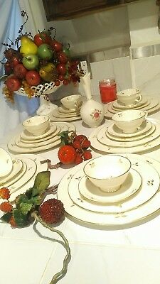 Rhodora by Lenox - Dinner Service for 4 - A 5 Piece Place Setting DISCONTINUED