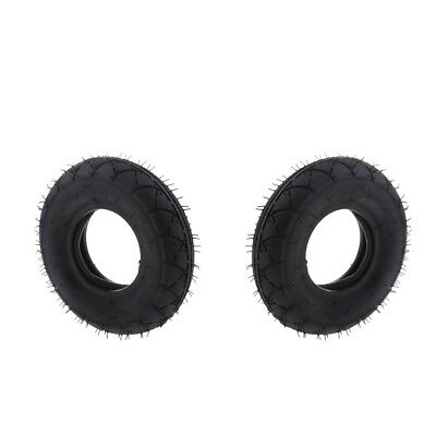 """2x Scooter Tire Inner Tube Set 200x50 8""""x2"""" for E100 E200 Scooters"""